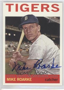2013 Topps Heritage - Real One Certified Autographs #ROA-MR - Mike Roarke