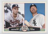 Adam Dunn, Eddie Mathews