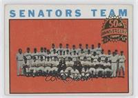 Washington Senators Team [GoodtoVG‑EX]