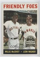Willie McCovey, Leon Wagner