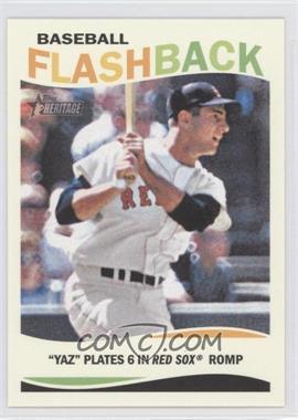 2013 Topps Heritage Baseball Flashback #BF-CY - Carl Yastrzemski