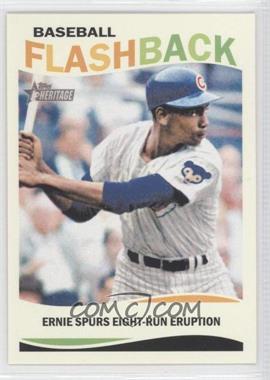 2013 Topps Heritage Baseball Flashback #BF-EB - Ernie Banks