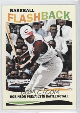 2013 Topps Heritage Baseball Flashback #BF-FR - Frank Robinson