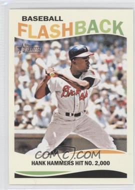 2013 Topps Heritage Baseball Flashback #BF-HA - Hank Aaron
