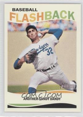 2013 Topps Heritage Baseball Flashback #BF-SK - Sandy Koufax