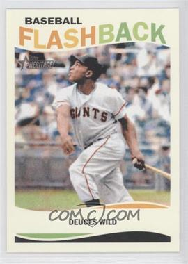 2013 Topps Heritage Baseball Flashback #BF-WM - Willie Mays