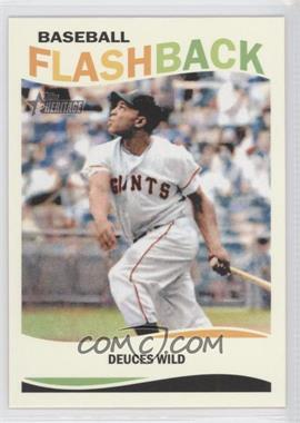 2013 Topps Heritage Baseball Flashback #BF-WM - Willie Mays