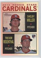Shelby Miller, Trevor Rosenthal /564