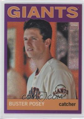 2013 Topps Heritage Chrome Retail Purple Refractors #HC20 - Buster Posey