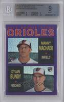 Manny Machado, Dylan Bundy [BGS9]