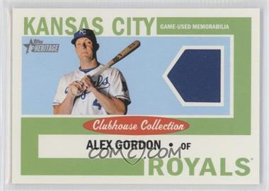 2013 Topps Heritage Clubhouse Collection Relics #CCR-AG - Alex Gordon