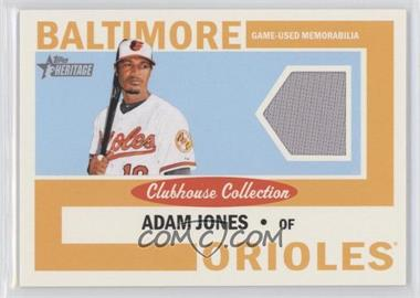 2013 Topps Heritage Clubhouse Collection Relics #CCR-AJ - Adam Jones