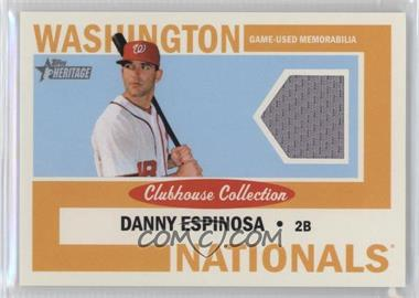 2013 Topps Heritage Clubhouse Collection Relics #CCR-DE - Danny Espinosa