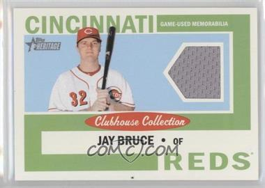 2013 Topps Heritage Clubhouse Collection Relics #CCR-JB - Jay Bruce