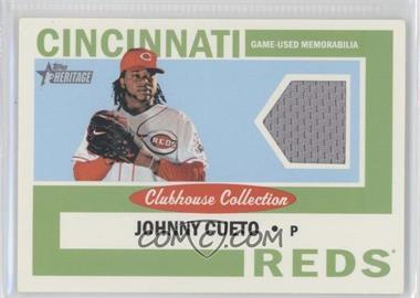 2013 Topps Heritage Clubhouse Collection Relics #CCR-JC - Johnny Cueto