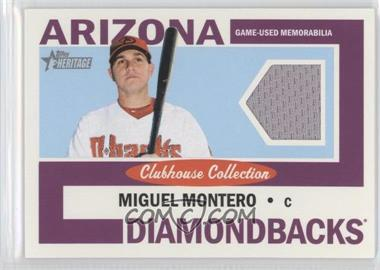 2013 Topps Heritage Clubhouse Collection Relics #CCR-MMO - Miguel Montero