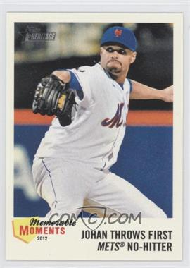 2013 Topps Heritage Memorable Moments #MM-JS - Johan Santana