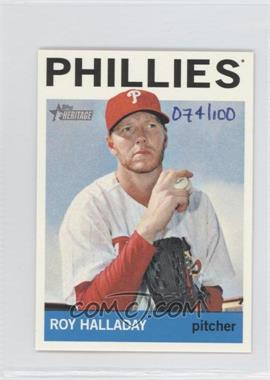 2013 Topps Heritage Mini #462 - Roy Halladay /100