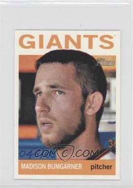 2013 Topps Heritage Mini #478 - Madison Bumgarner /100