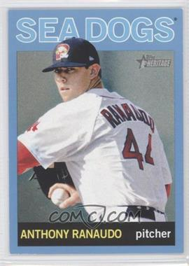 2013 Topps Heritage Minor League Edition - [Base] - Blue #124 - Anthony Ranaudo /1