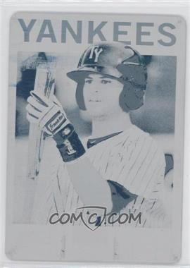 2013 Topps Heritage Minor League Edition - [Base] - Printing Plate Cyan #64 - Mason Williams /1