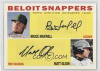 Matt Olson, Bruce Maxwell /15