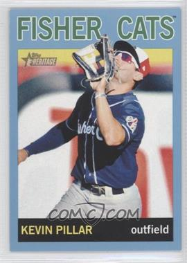 2013 Topps Heritage Minor League Edition Blue #143 - Kevin Pillar /1