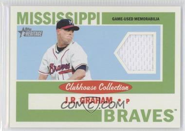 2013 Topps Heritage Minor League Edition Clubhouse Collection Relics #CCR-JG - J.R. Graham