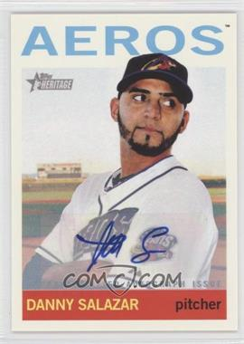 2013 Topps Heritage Minor League Edition Real One Autographs #ROA-DS - Danny Salazar
