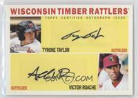 Tyrone Taylor, Victor Roache /15