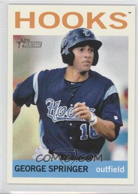 2013 Topps Heritage Minor League Edition #225 - George Springer