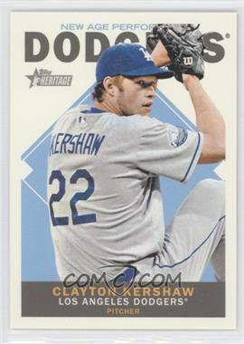 2013 Topps Heritage New Age Performers #NAP-CK - Clayton Kershaw