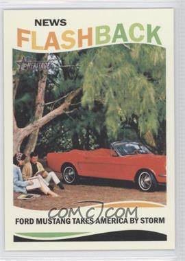 2013 Topps Heritage News Flashback #NF-FM - Ford Mustang