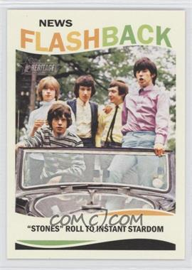 2013 Topps Heritage News Flashback #NF-RS - The Rolling Stones