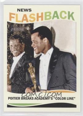 2013 Topps Heritage News Flashback #NF-SP - Sidney Poitier