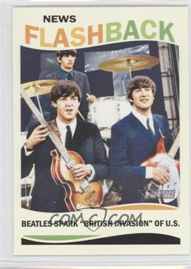 2013 Topps Heritage News Flashback #NF-TB - The Beatles