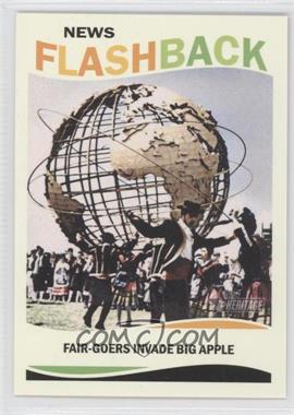 2013 Topps Heritage News Flashback #NF-WF - 1964 World's Fair