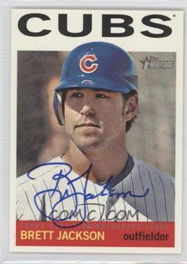 2013 Topps Heritage Real One Certified Autographs #ROA-BJ - Brett Jackson