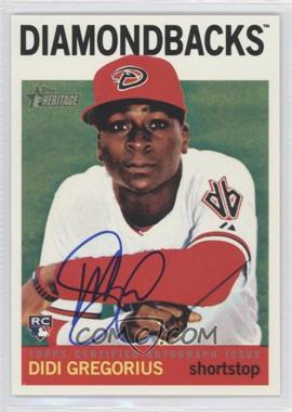 2013 Topps Heritage Real One Certified Autographs #ROA-DG - Didi Gregorious