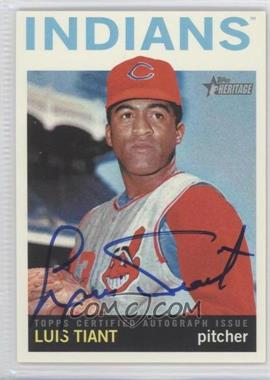 2013 Topps Heritage Real One Certified Autographs #ROA-LT - Luis Tiant