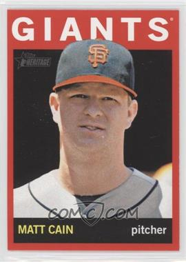 2013 Topps Heritage Retail Red #350 - Matt Cain