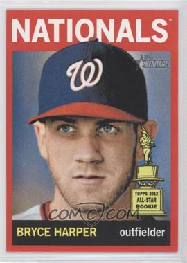 2013 Topps Heritage Retail Red #440 - Bryce Harper