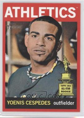 2013 Topps Heritage Retail Red #459 - Yoenis Cespedes