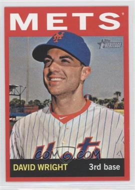 2013 Topps Heritage Retail Red #465 - David Wright