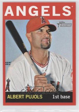 2013 Topps Heritage Retail Red #470 - Albert Pujols