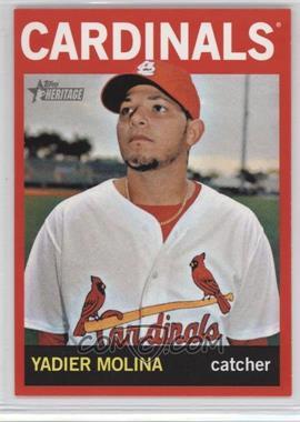 2013 Topps Heritage Retail Red #477 - Yadier Molina