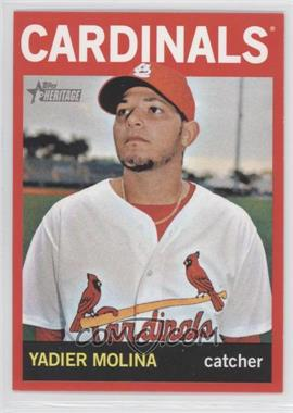 2013 Topps Heritage Retail Red #477 - Yadier Molina