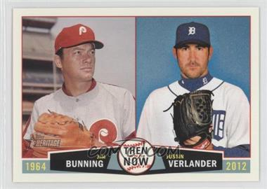 2013 Topps Heritage Then and Now #TN-BV - [Missing]
