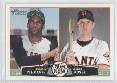 2013 Topps Heritage Then and Now #TN-CP - [Missing]