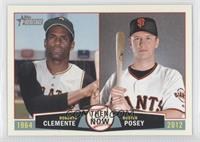 Roberto Clemente, Buster Posey